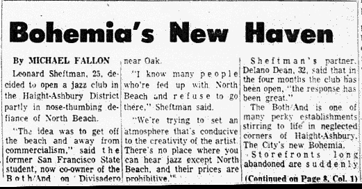 The Hippies vs The Artists in San Francisco's New Bohemia