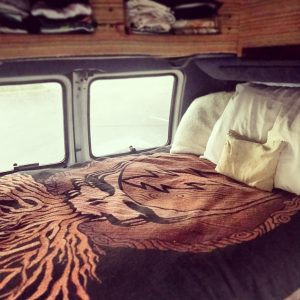 Grateful Dead Blanket Van Bed