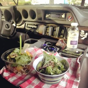Van Life Dashboard Dinner